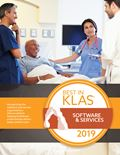 2019 Best in KLAS Awards - Software and Professional Services