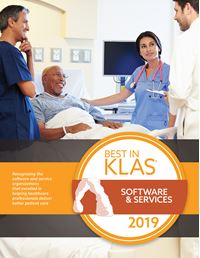2019 Best in KLAS