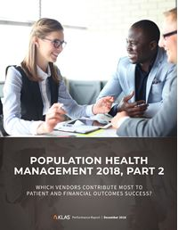 Population Health Management 2018, Part 2