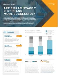 Are EMRAM Stage 7 Physicians More Successful?
