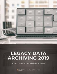 Legacy Data Archiving 2019