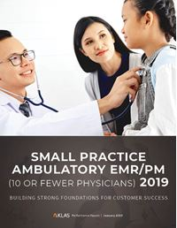 Small Practice Ambulatory EMR/PM (10 or Fewer Physicians) 2019