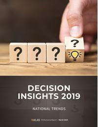Decision Insights 2019