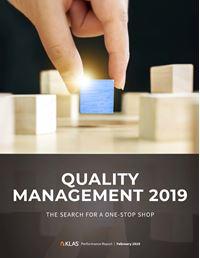 Quality Management 2019