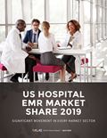 US Hospital EMR Market Share 2019