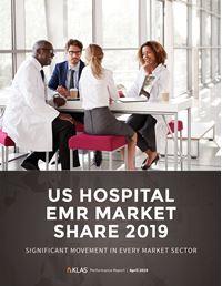 US Hospital EMR Market Share 2019