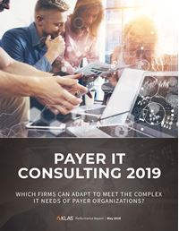 Payer IT Consulting 2019