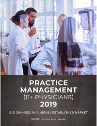 Practice Management (11+ Physicians) 2019