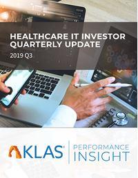Healthcare IT Investor Update 2019 Q3