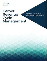 Cerner Revenue Cycle Management, Report 3 of 4