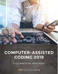 Computer-Assisted Coding (CAC) 2019