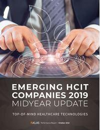 Emerging HCIT Companies 2019 Midyear Update