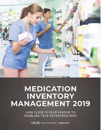 Medication Inventory Management 2019