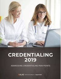 Credentialing 2019