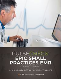Pulse Check 2019 - Epic Small Practices EMR