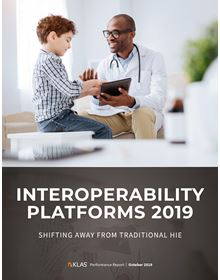 Interoperability Platforms 2019: Shifting Away from Traditional HIE