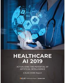 Healthcare AI 2019: Actualizing the Potential of Artificial Intelligence - CHIME Edition