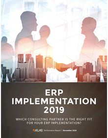 ERP Implementation 2019: Which Consulting Partner Is the Right Fit for Your ERP Implementation?