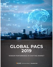Global PACS 2019: Vendor Performance in Shifting Market