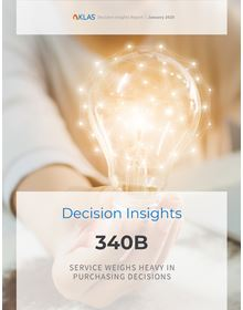 340B 2020: Service Weighs Heavy in Purchasing Decisions (A Decision Insights Report)