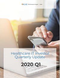 Healthcare IT Investor Update 2020 Q1