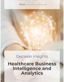 Healthcare Business Intelligence and Analytics 2020: Decision Insights Report