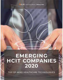Emerging HCIT Companies 2020: Top-of-Mind Healthcare Technologies
