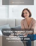 Patient Perspectives on Patient Engagement Technology 2020