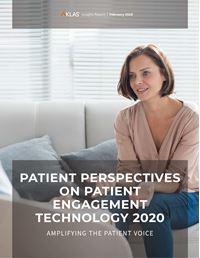 Patient Perspectives on Patient Engagement Technology 2020