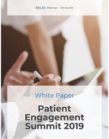 Patient Engagement Summit 2019: White Paper
