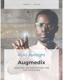 Augmedix: Emerging Technology Spotlight 2020