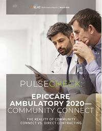 Epic Ambulatory 2020—Community Connect