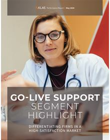 Go-Live Support Segment Highlight 2020: Differentiating Firms in a High-Satisfaction Market