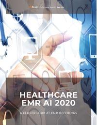 Healthcare EMR AI 2020