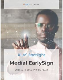 Medial EarlySign: Emerging Technology Spotlight 2020