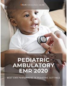 Pediatric Ambulatory EMR 2020: Best EMR Performers in Pediatric Settings