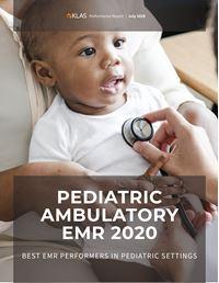 Pediatric Ambulatory EMR 2020