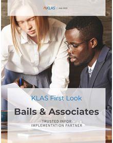 Bails & Associates: First Look 2020