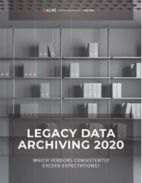Legacy Data Archiving 2020