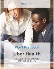 Uber Health: Emerging Technology First Look 2020