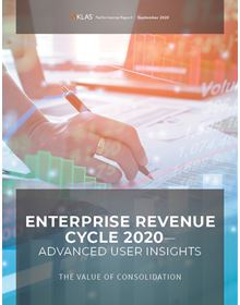 Enterprise Revenue Cycle 2020—Advanced User Insights: The Value of Consolidation