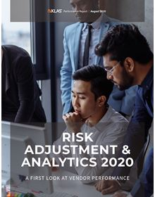 Risk Adjustment & Analytics 2020: A First Look at Vendor Performance