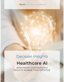 Healthcare AI 2020: Investment Continues but Results Slower Than Expected (A Decision Insights Report)