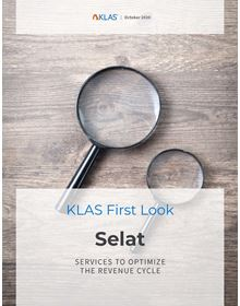 Selat Revenue Cycle Outsourcing: First Look 2020