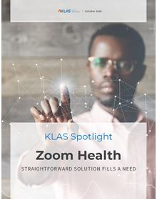 Zoom Health: Emerging Technology Spotlight 2020