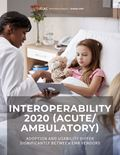 Interoperability 2020 (Acute/Ambulatory): Adoption and Usability Differ Significantly Between EMR Vendors