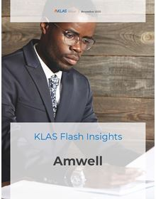 Amwell Recent Announcement Flash Insight 2020