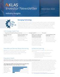December 2020 Investor Newsletter