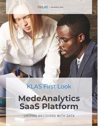 MedeAnalytics SaaS Platform