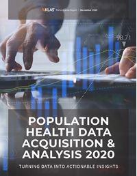 Population Health Data Acquisition & Analysis 2020